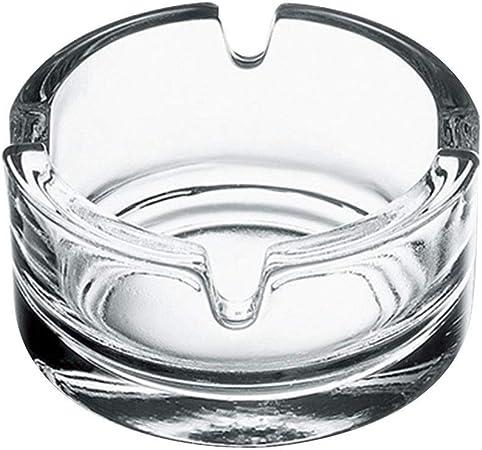 Cendrier en verre rond 16 cm