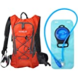 Hydration Pack Recreational Backpack with 2L BPA Free Water Bladder Bag Lightweight Outdoor Products Tactical Survival