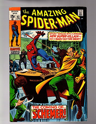 SPIDERMAN 83 FINE MINUS April 1970