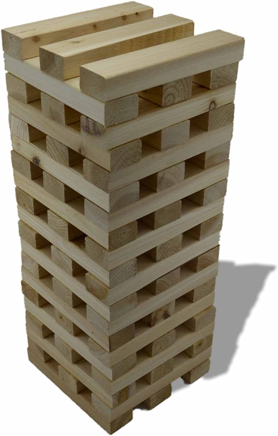1.2M Giant Wooden Tumbling Tower 60 Solid Pieces Outdoor Garden Family Fun by Other: Amazon.es: Juguetes y juegos