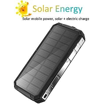 Cargador solar Paquete de plegado solar de capacidad súper ...