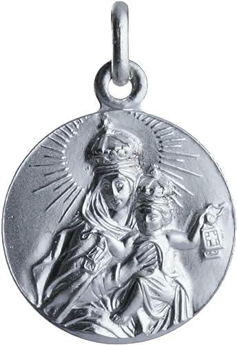 SACRE COEUR - Medalla de Vírgen del Carmen | Plata Primera Ley | Patrona de la Armada Española y los Carmelitas |: Amazon.es: Joyería