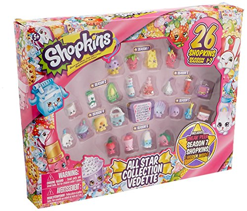 Shopkins Season 1-7 Best of All Star Collection Playset