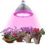 Lampadina LED Pianta Lampadina di Lumin Tekco, 12W E27(3 LED blu & 9 LED rossa) Lampada idroponica per dell'interno fiore del giardino piante crescita serra di verdure