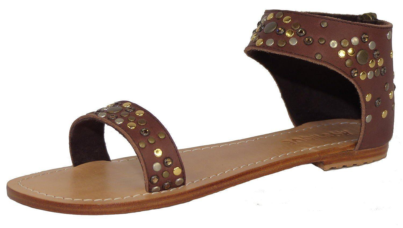 Mystique Women's Fashion Sandals Brown Brown Multi: Amazon.co.uk: Shoes &  Bags