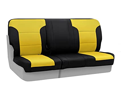 Fabulous Amazon Com Coverking Custom Fit Rear 60 40 Bench Seat Cover Unemploymentrelief Wooden Chair Designs For Living Room Unemploymentrelieforg