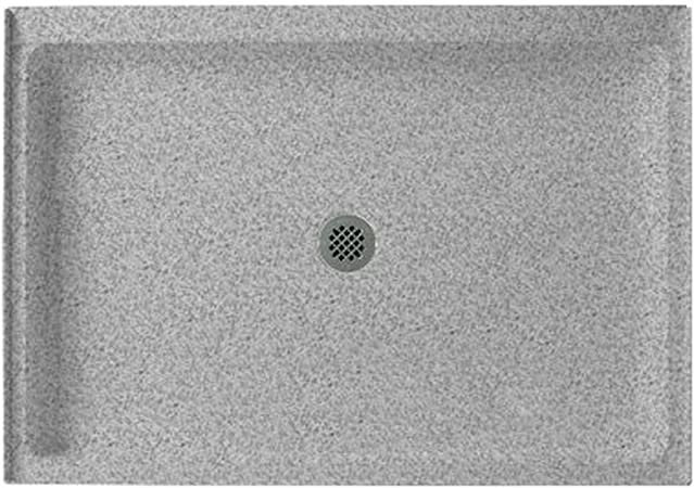 Swanstone Ss 3442 042 Solid Surface Center Drain Shower Base 42