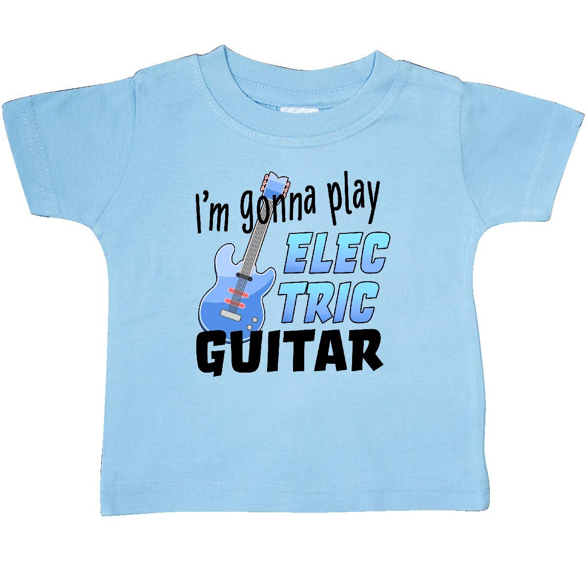 inktastic Im Gonna Play Electric Guitar Music Baby T-Shirt