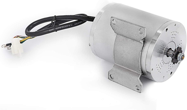 OldFe 48V Elektrischer B/ürstenloser Gleichstrommotor 1800W B/ürstenloser Elektromotor 4500 U Brushless Electric Motor