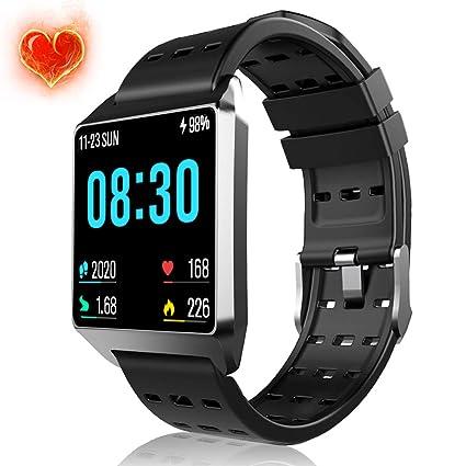Monitor de actividad física con monitor de frecuencia cardíaca ...