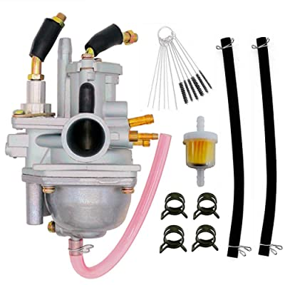 New 90cc Carburetor Compatible with Sportsman 90 90cc ATV Carb Manual Choke 2001-2006: Automotive