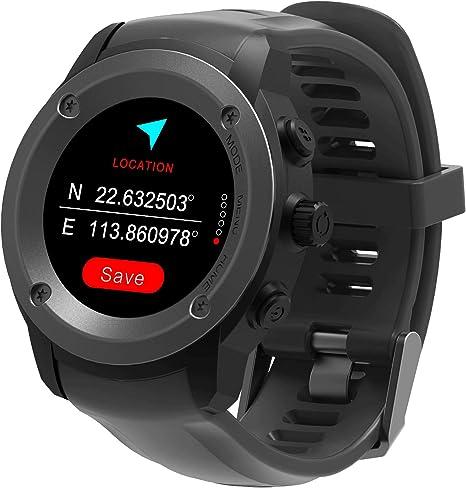 Hombre Mujer Reloj con GPS de Deportivo con Pulsómetro y ...