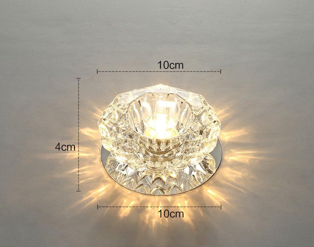 Plafoniere Scale : Momo faretto a soffitto led in cristallo mini plafoniera moderna