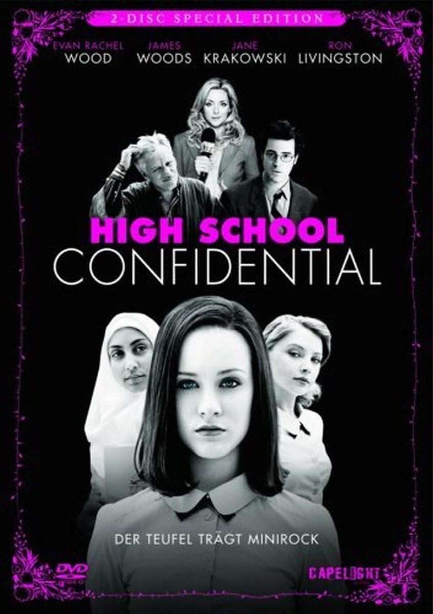High School Confidential Special Edition, 2 DVDs Alemania ...