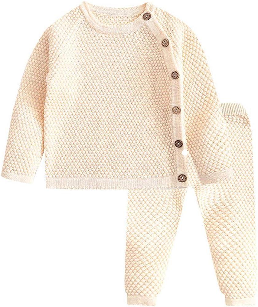 Culater/® Neonate Maglioni Inverno 2017 Nuova Ragazza Manica Lunga Vestiti Lavorati A Maglia Bambini Autunno Maglione di Colore Solido per Le Ragazze