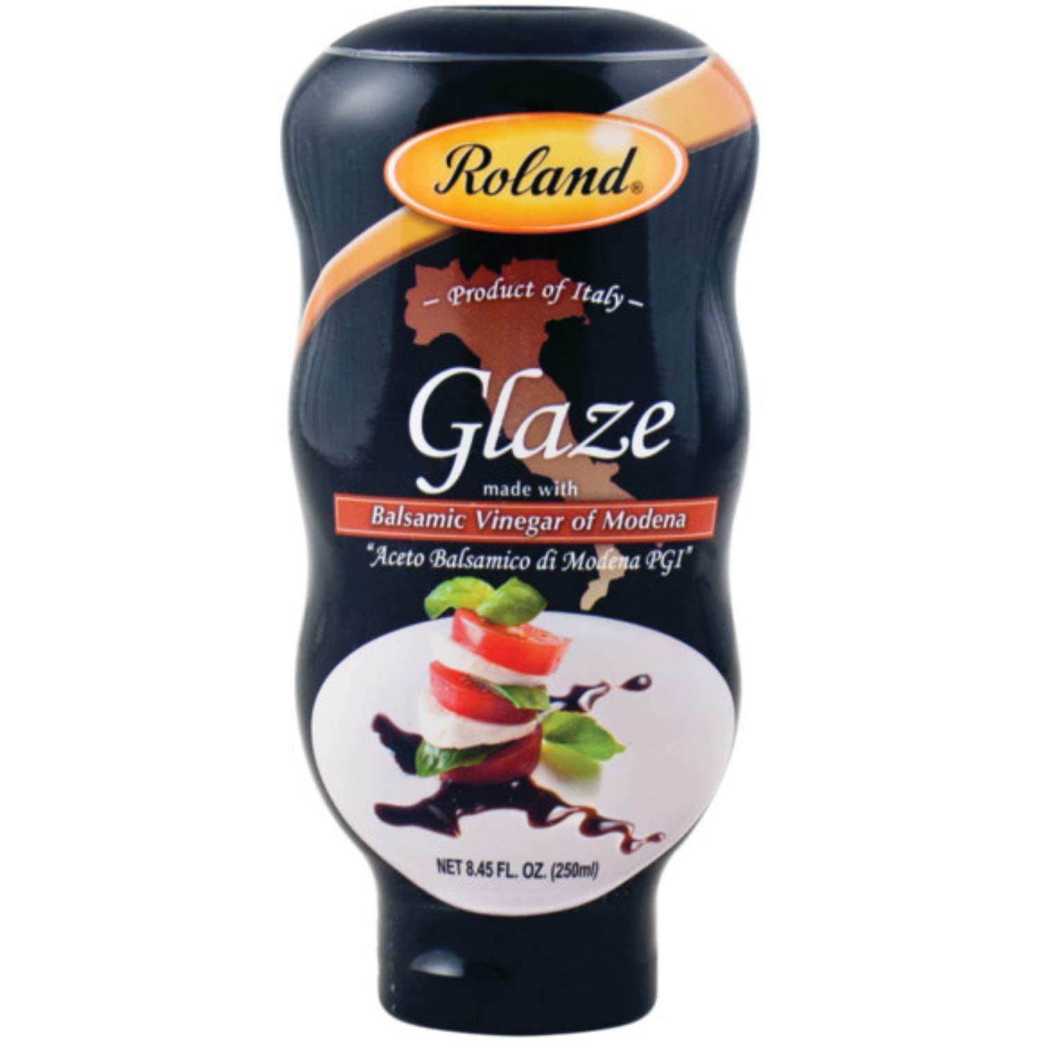Roland Foods Balsamic Vinegar Glaze of Modena, Specialty Imported Food, 8.45-Ounce