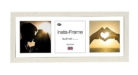 Amazoncom Inov8 21 X 8 Inch Insta Frame Driftwood Photo Frame For