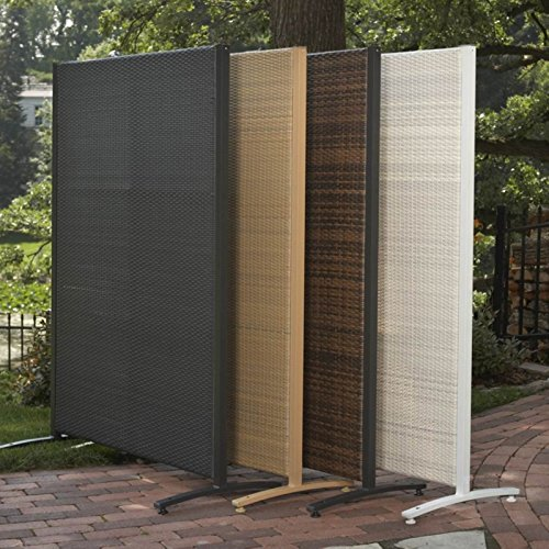 Versare Outdoor Wicker Resin Room Divider Buy Online In
