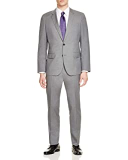 a1ebcdff1 Amazon.com: Hugo Boss Men's Slim Fit Super 120's Stretch Tailoring ...