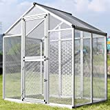 Sliverylake LARGE Bird Cage Parrot Cockatiel Macare Canary Parakeet Lovebird Finch Walk In Aviary House Pet Supply