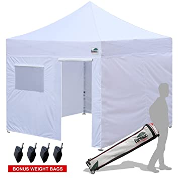 Eurmax 10x10 Ez Pop Up Canopy Outdoor with 4 Removable Zipper end Sidewalls + Roller Bag  sc 1 st  Amazon.com & Amazon.com : Eurmax 10x10 Ez Pop Up Canopy Outdoor with 4 ...