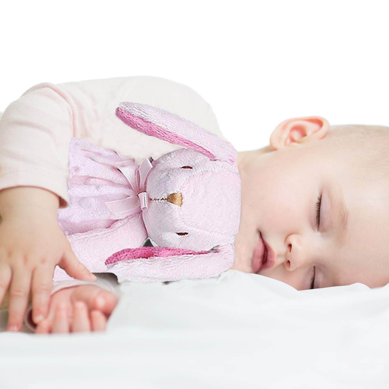Cosas De Peluche Juguete Rosa Elefante Peluche Peluche Comfort Manta De Seguridad Bebé Niña Regalo