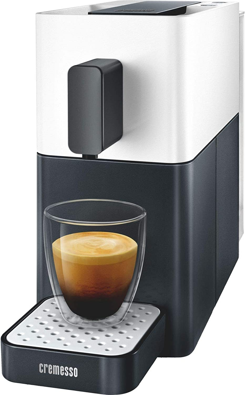 Cremesso Easy Shell White & Midnight - Cafetera de cápsulas, color ...