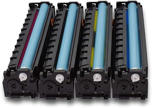 MALPYQA Compatible with HP CF530A Toner Cartridge for hp205AM181fw M154aM180n Printer Toner Cartridge Toner,4colors