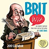 brit wit 2017 day to day calendar the perfect riposte for every social occasion