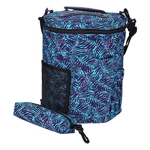 ZJchao Knitting Bag, Yarn Storage Lightweight Portable Oxford Cloth Knitting Holder Bag Yarn Thread Sewing Storage Bag Twinset by ZJchao