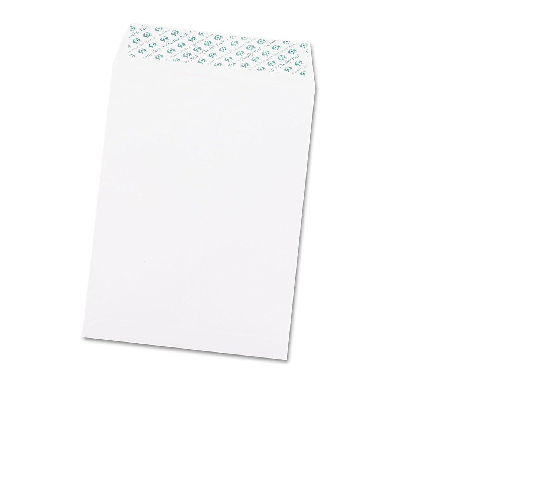 Quality Park 44582 Redi-Strip Envelopes, Plain, 28Lb, 9'x12', 100/BX, WE 9x12