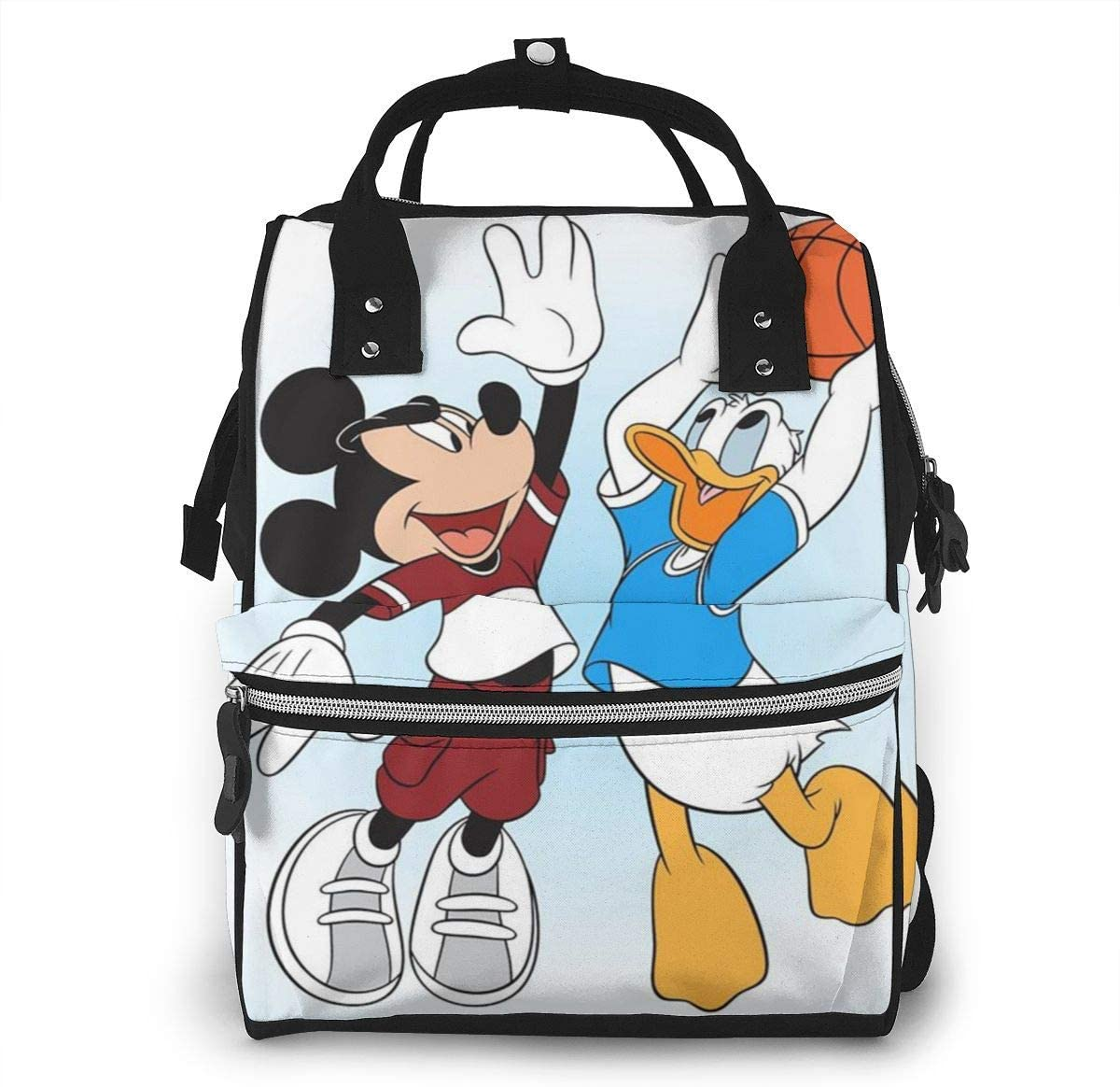 Mochila para pañales - Mickey Mouse y Donald Duck Mochila ...