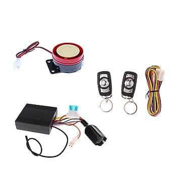 Sharplace Alarma Control Remoto Arnés de Cableado kit ...