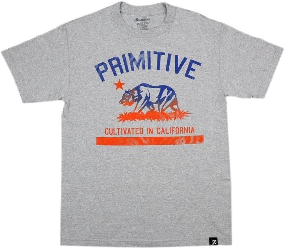 Primitive - Cultivated Athletic tee - Camiseta Manga Corta Skate Hombre Color: Heather Talla: M: Amazon.es: Ropa y accesorios