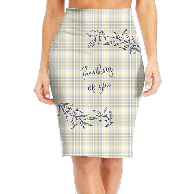 2fb5d7e01f Beautiful Women's Long Pencil Skirt Full Printed Pattern Knee Length Dress