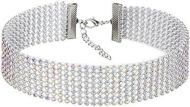 Crystal Rhinestone Choker Necklace For Women Gift Wedding Accessories Punk Gothic Choker