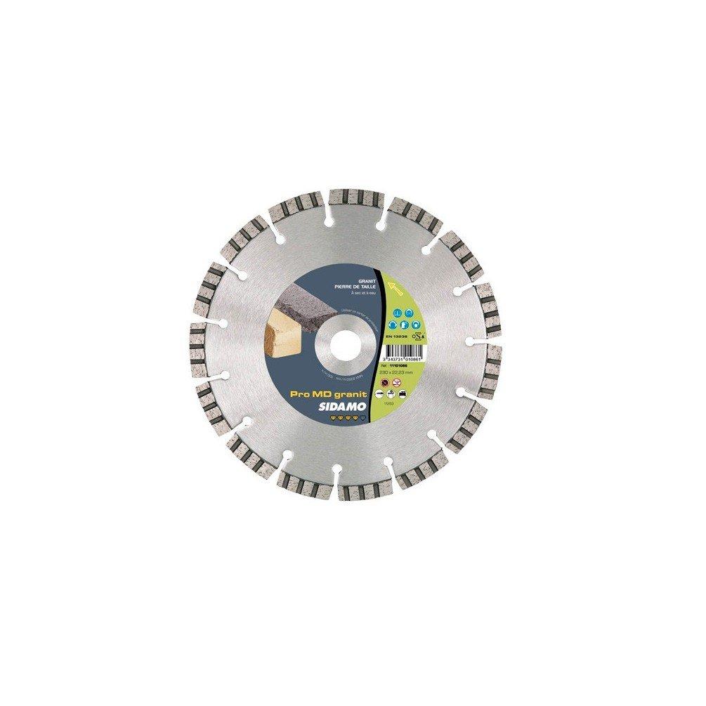 Sidamo–Festplatte Diamant Pro MD Granit D.230x 22,23x 12x EPH. 2,8mm–Harte Materialien–11101086