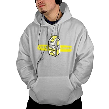 Lyrical Lemonade Men Fashion Hoodies Pullover Long Sleeve Hooded Sweatshirts with Pockets