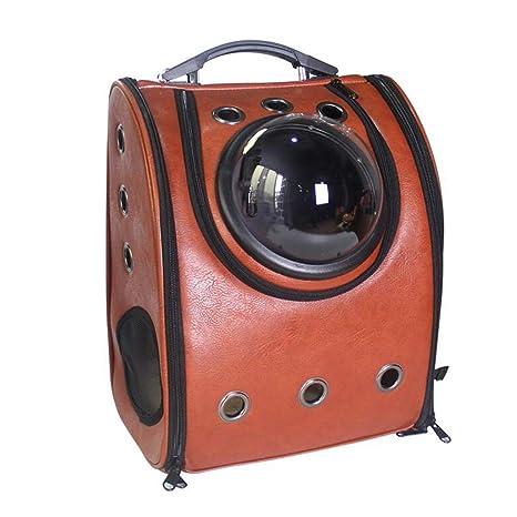 Pet Space Bag Space Cat Cabina Mochila Perro Mochila Transpirable Fuera Hombro Gato Mochila Bolsa de