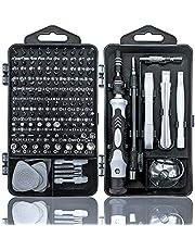 Skruvmejselset för finmekanik, 115 delar i 1 minifinmekanikset, magnetisk torxbit, precisionselektronik, reparationssats för iPhone, laptop, surfplatta, klockmakare, modellbygge, klockor, kamera, glasögon