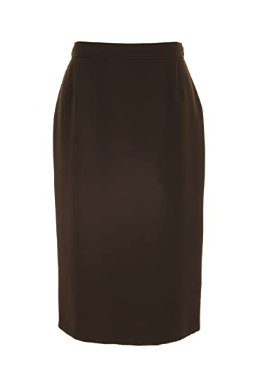Busy Clothing Womens Brown Pencil Skirt – Size 10