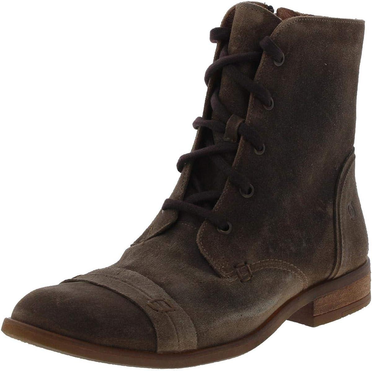 BORN Women's Dunay Suede Combat Boots