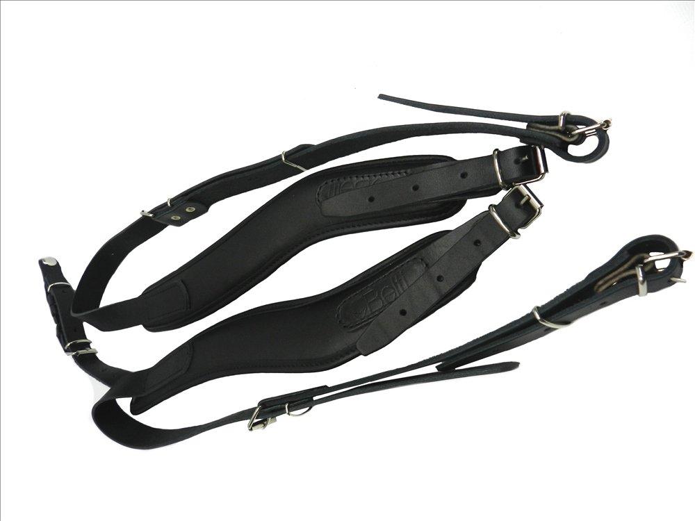 Paire de bretelles courroies en cuir pour accordéon 80-120 Belti BEL2400122