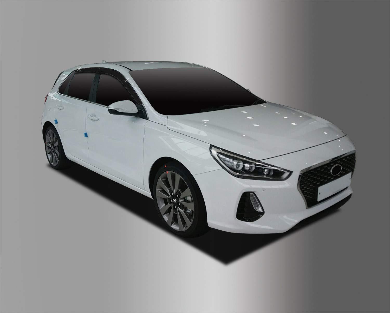 4 Piezas Juego de deflectores de Viento para Hyundai i30 2017+ Autoclover