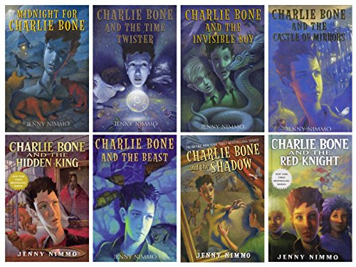 Charlie Bone Book Series Hardcover Vol. 1-8: Midnight for Charlie Bone / Time Twister / Invisible Boy / Castle of Mirrors / Hidden King / Beast / Shadow / Red Knight (Charlie Bone And The Castle Of Mirrors)