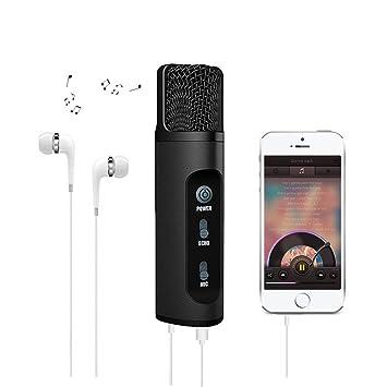 Karaoke Micro Pour Téléphone Portable Roop Modificateur De Voix