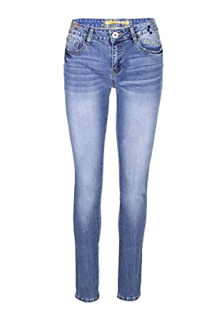 Desigual Jeans Femme Denim Refriposas 19SWDD19 w28 Denim  Amazon.fr   Vêtements et accessoires 8861d4f68f8