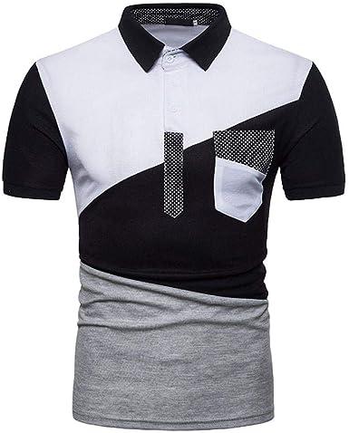 Hombre Camisa De Chic De Camiseta Polo De Friends Manga Corta De ...