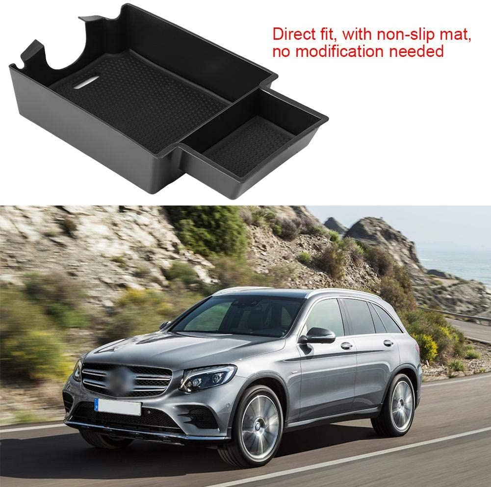 Armrest Storage Box Container Left for A//B//CLA//GLA Class W176 W246 X156 C177 Suuonee Armrest Storage Box