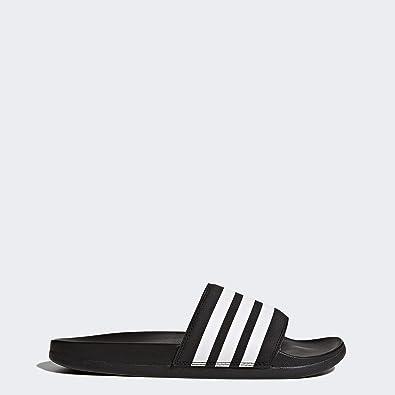 quality design 5c630 a59cb Amazon.com   adidas Adilette Cloudfoam Plus Stripes Slides Women s   Sport  Sandals   Slides